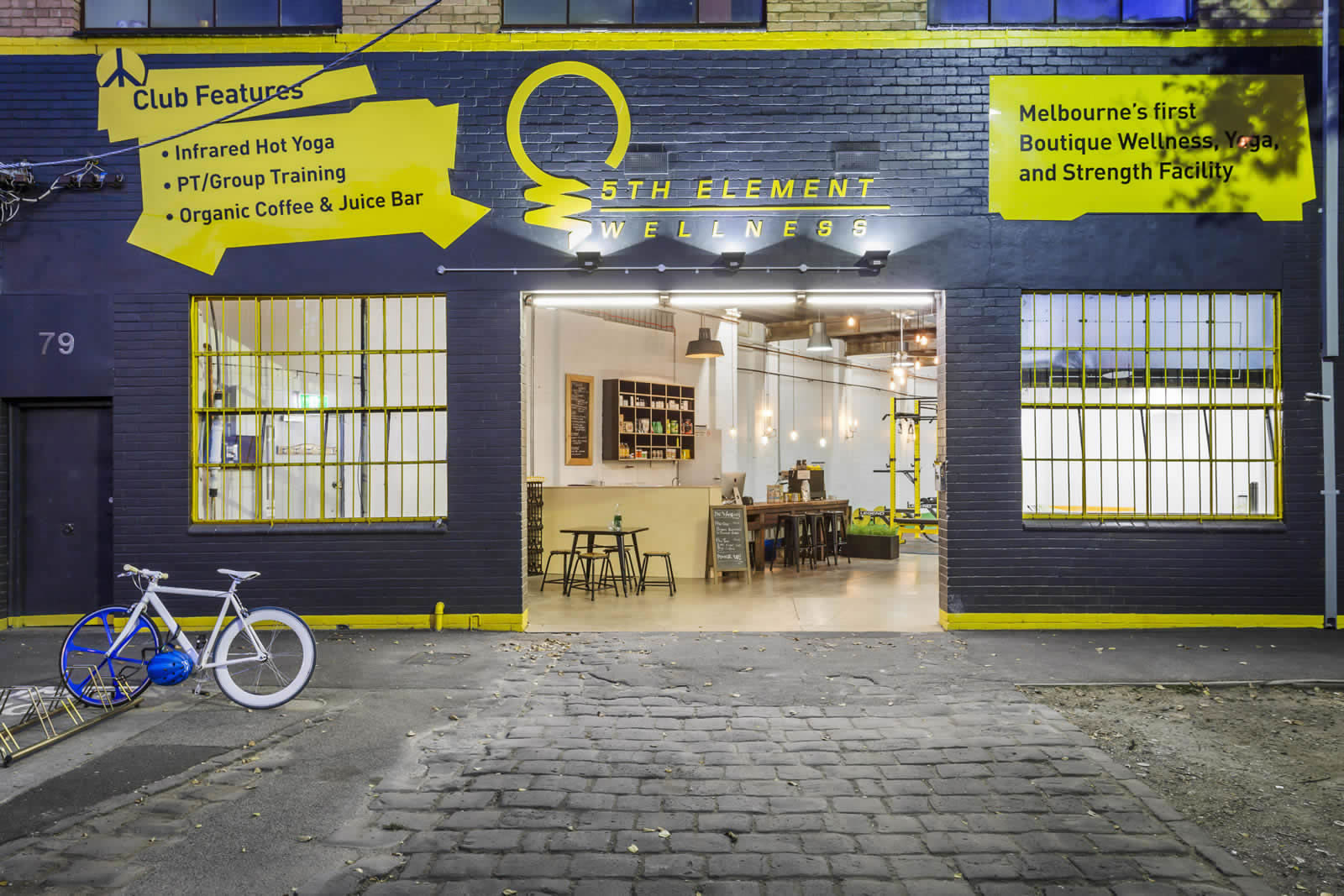 Electrical and Lighting: 5th Element Wellness, Melbourne